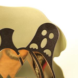 飾り台座セットには飾り札が付属します。